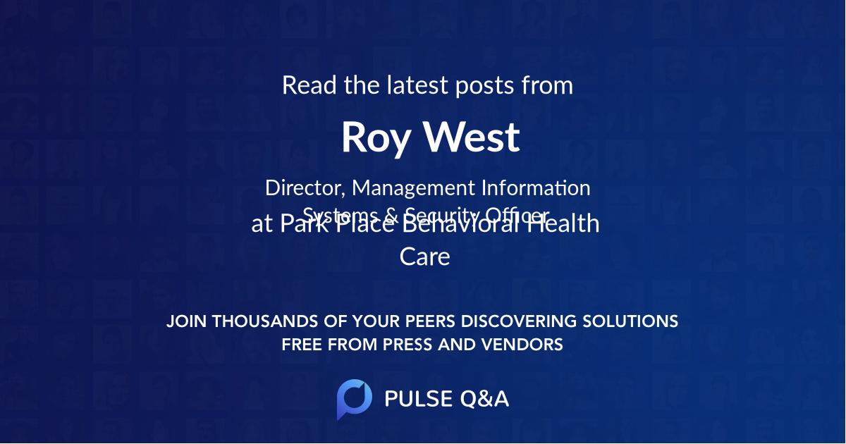 Roy West