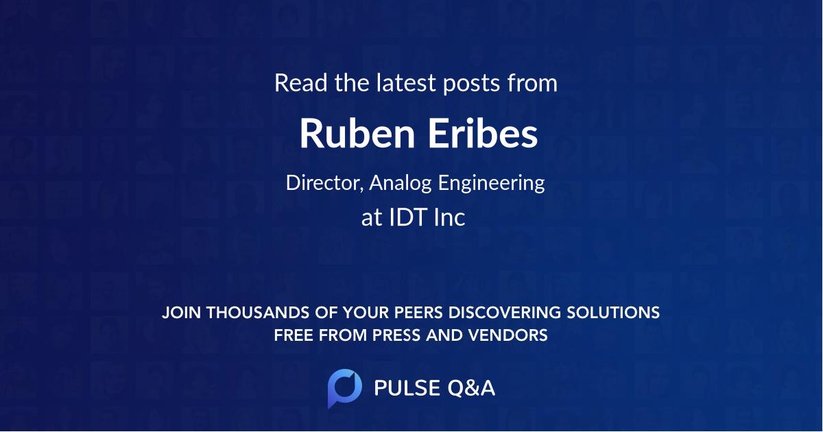 Ruben Eribes