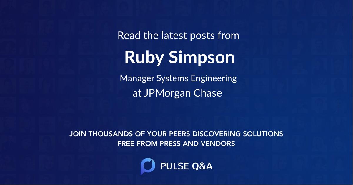 Ruby Simpson