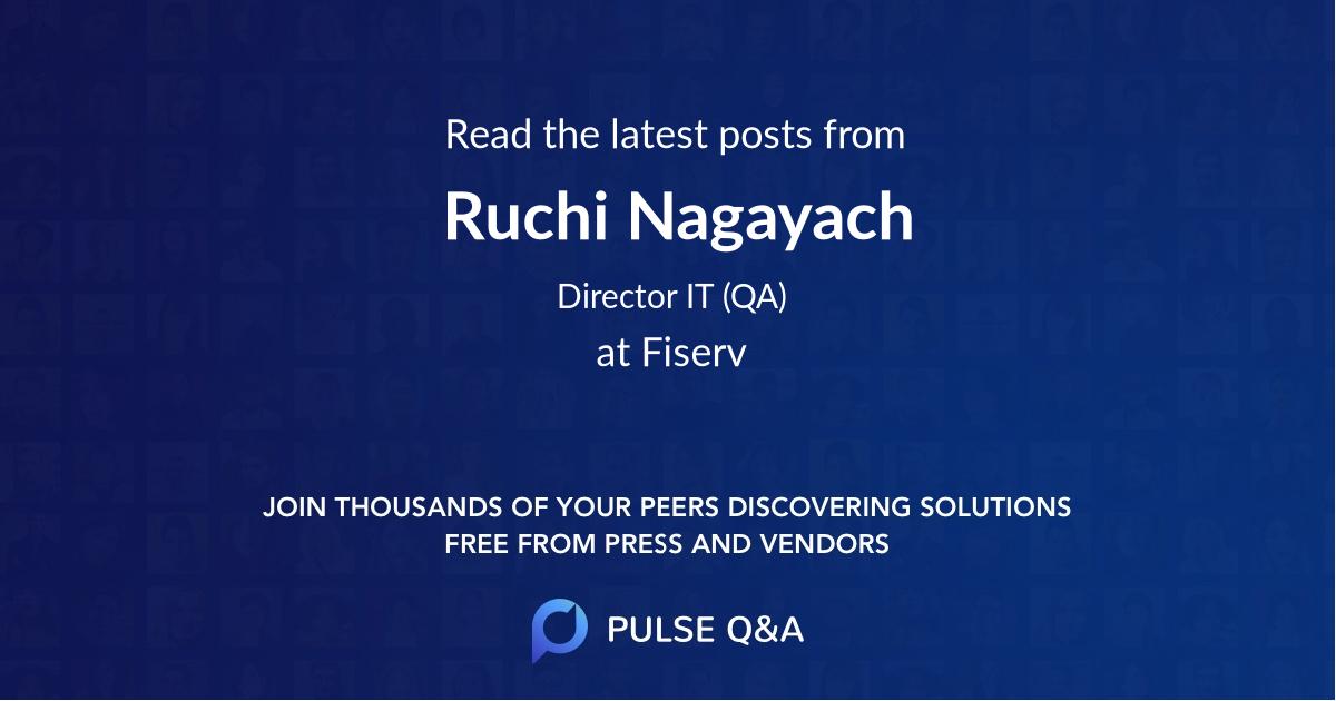 Ruchi Nagayach