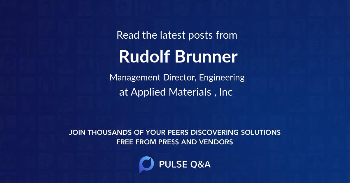 Rudolf Brunner