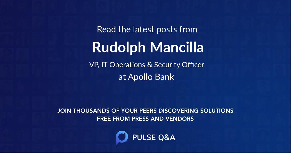 Rudolph Mancilla