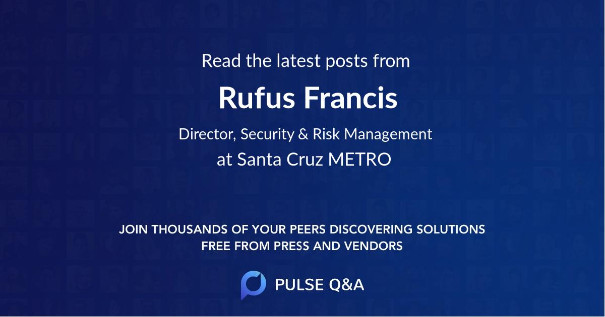 Rufus Francis