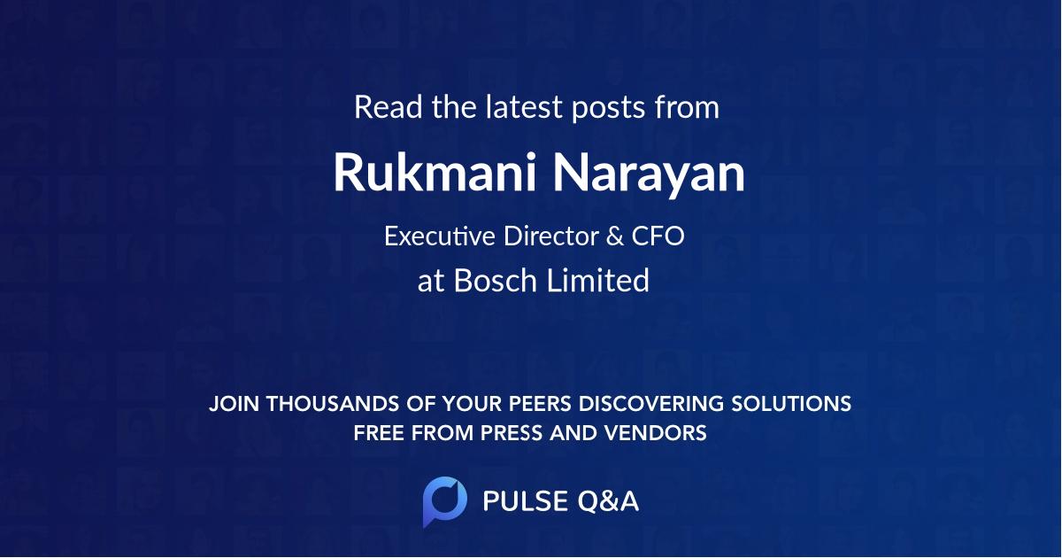 Rukmani Narayan