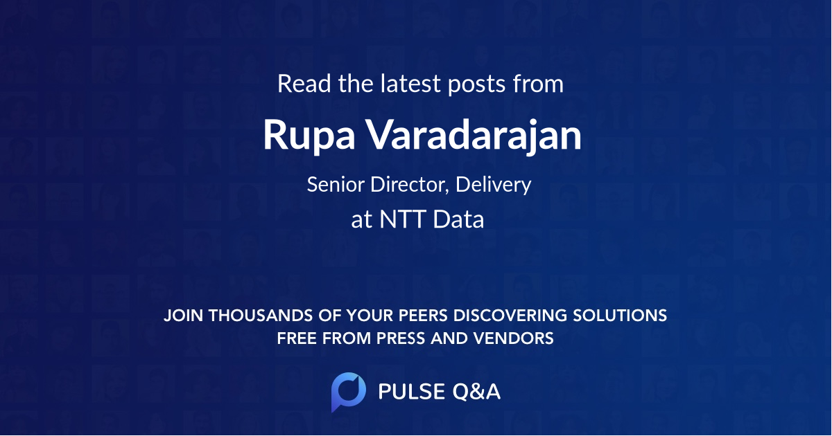 Rupa Varadarajan