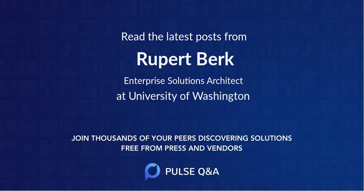 Rupert Berk