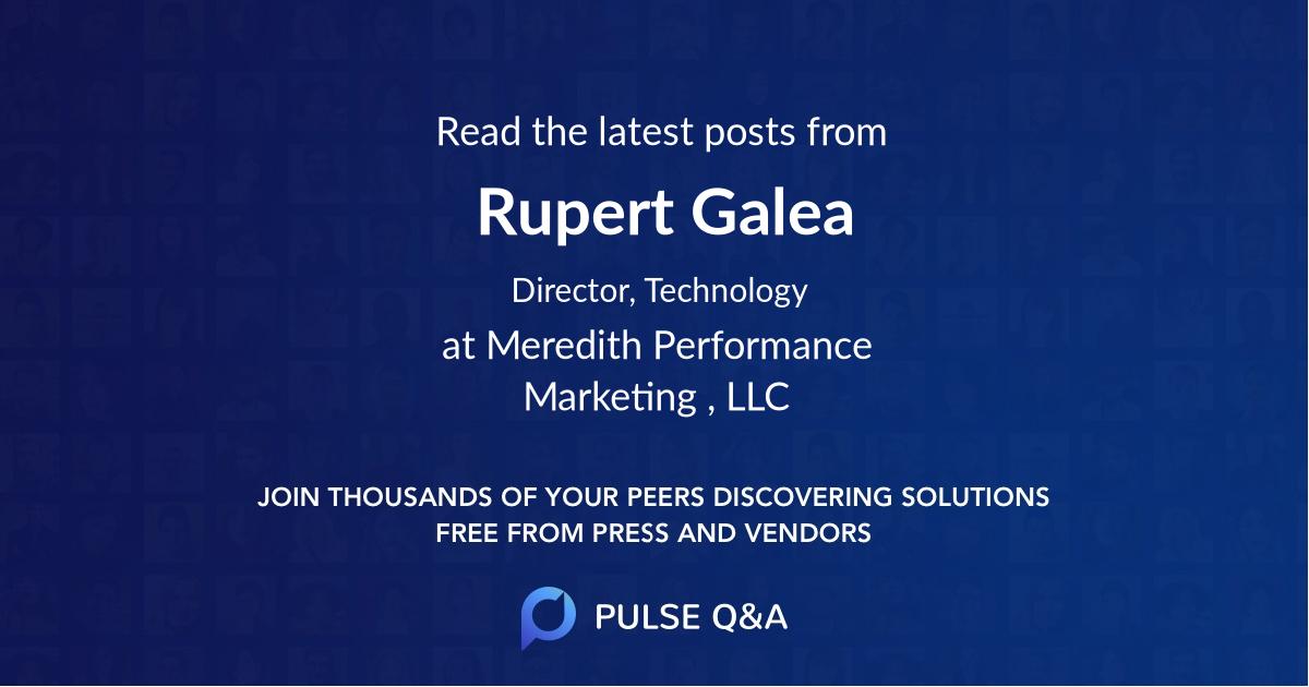 Rupert Galea