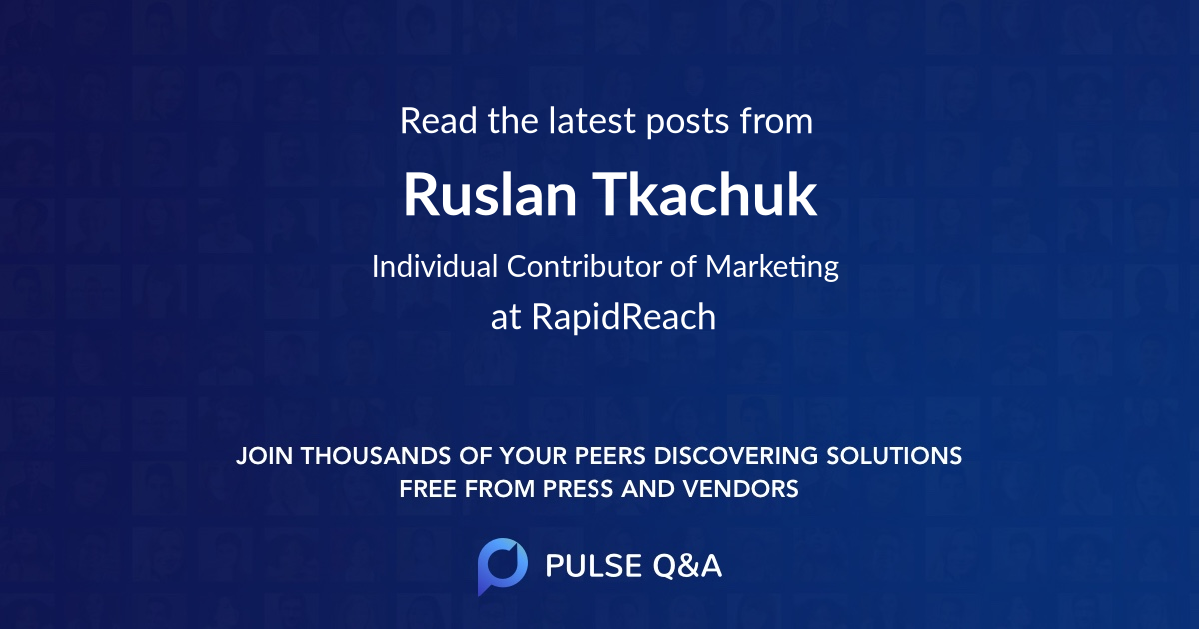 Ruslan Tkachuk