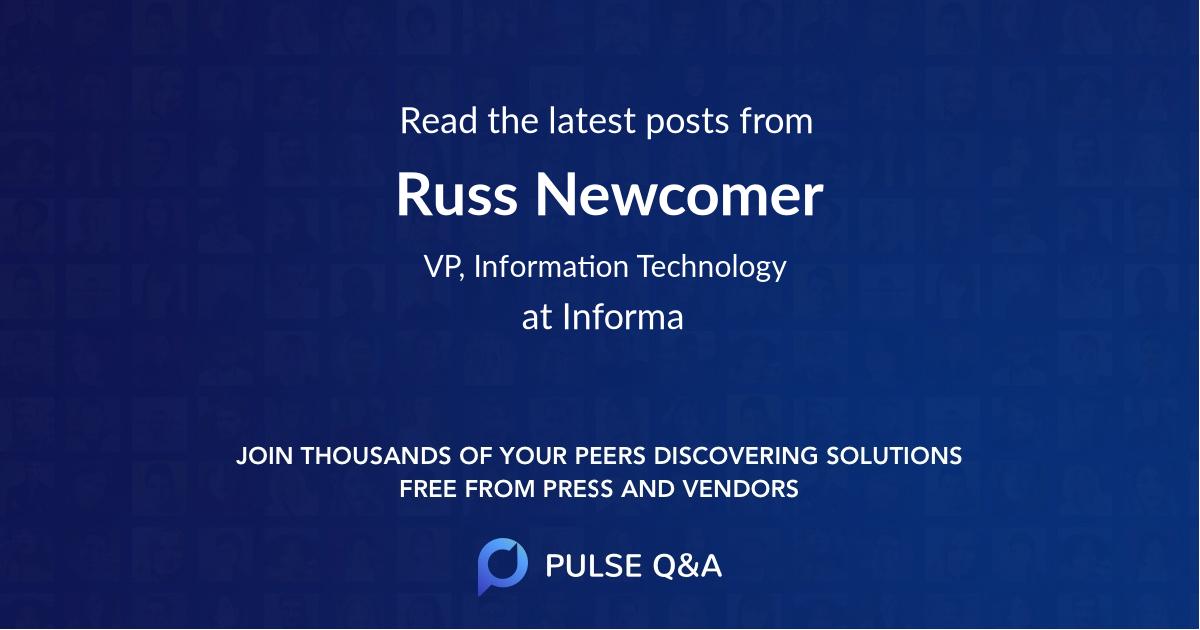Russ Newcomer