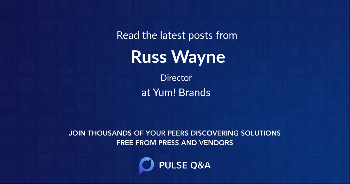 Russ Wayne