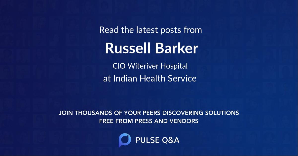 Russell Barker