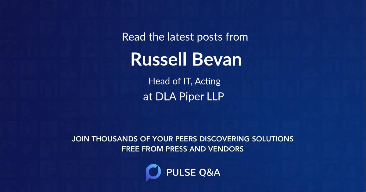 Russell Bevan