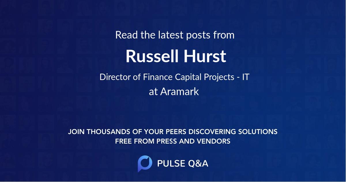 Russell Hurst