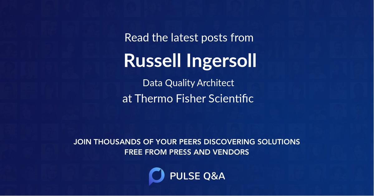 Russell Ingersoll