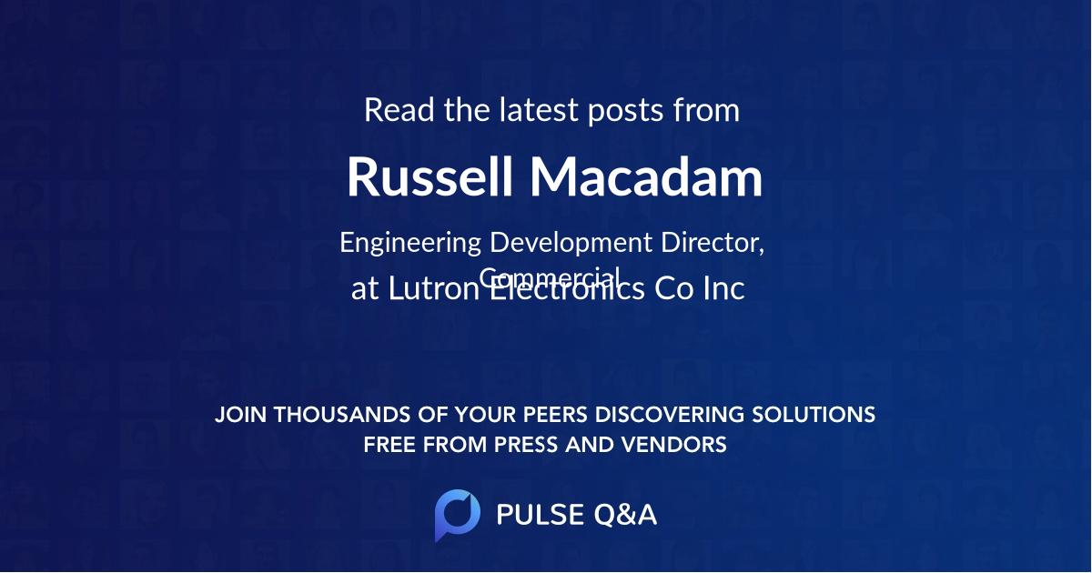 Russell Macadam