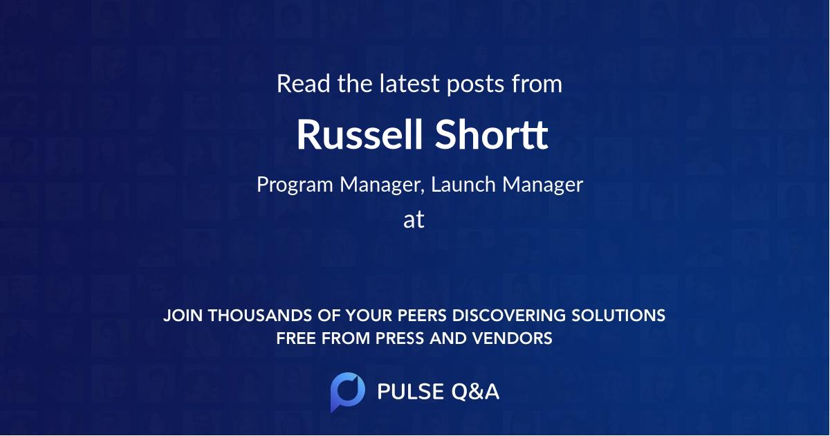Russell Shortt