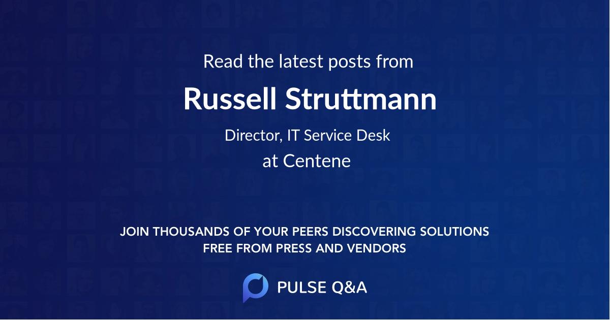 Russell Struttmann