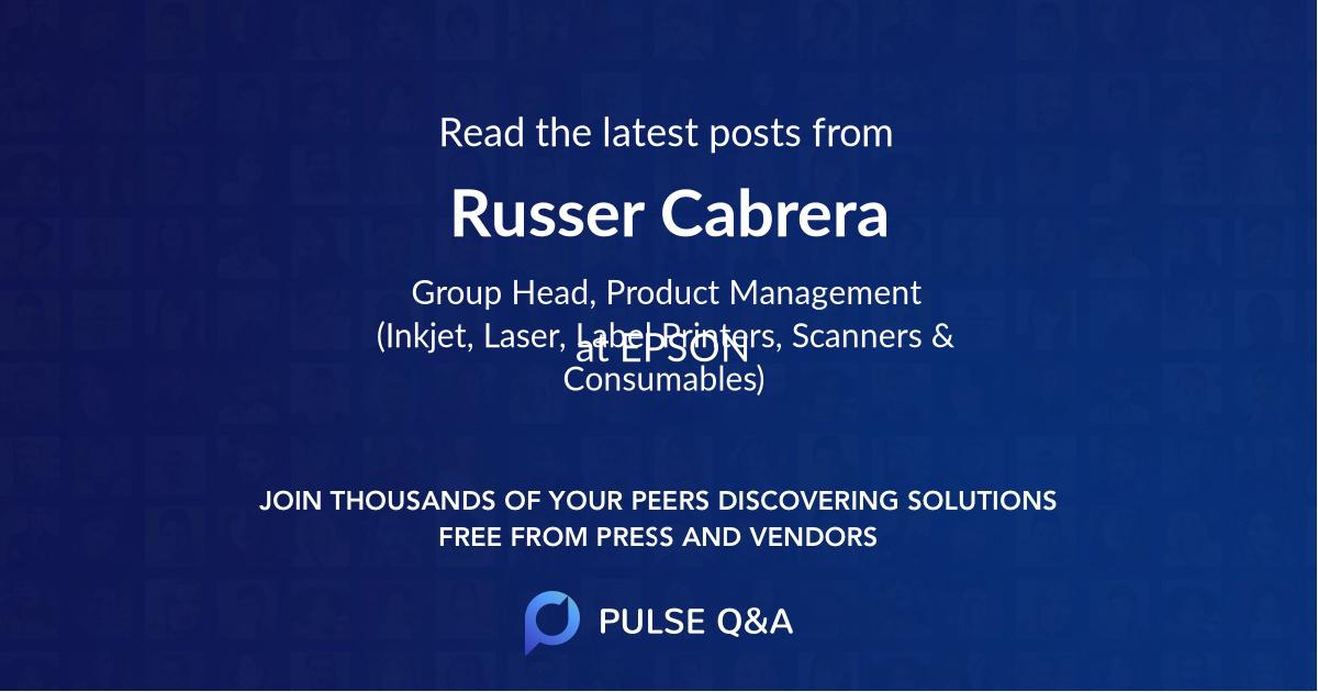 Russer Cabrera