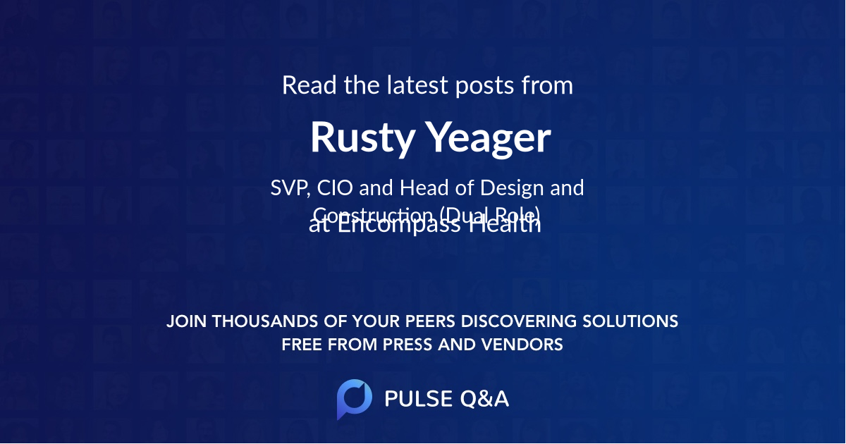 Rusty Yeager