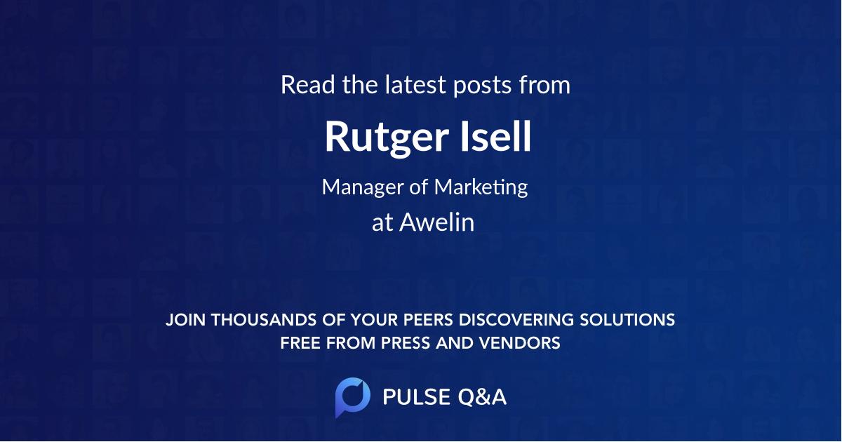 Rutger Isell