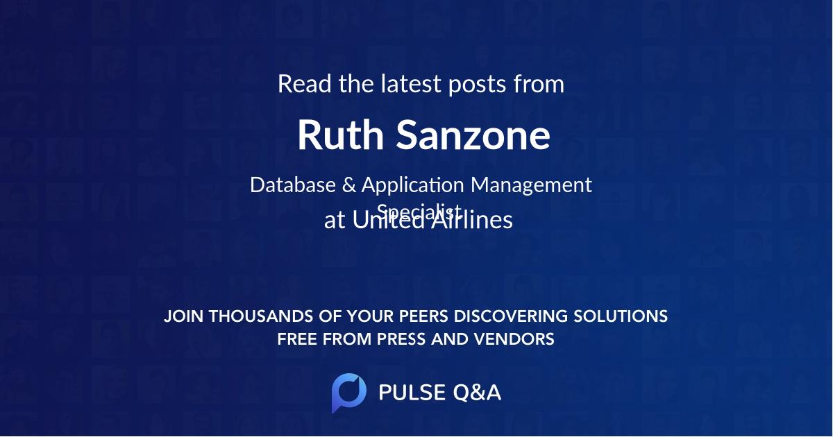Ruth Sanzone