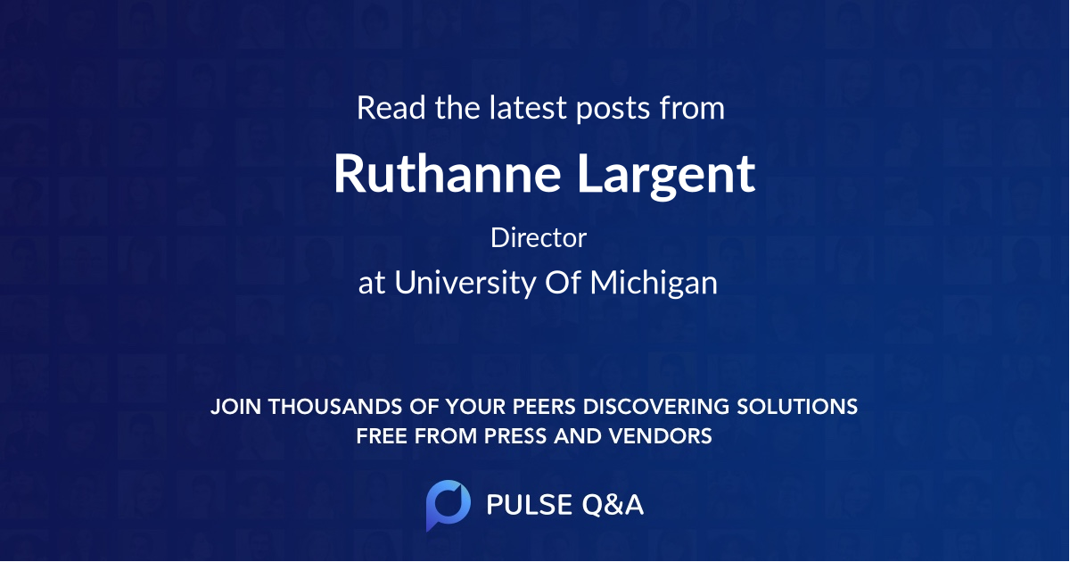 Ruthanne Largent