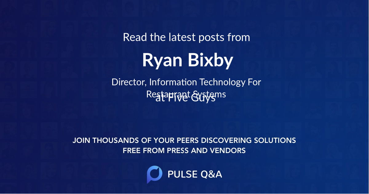 Ryan Bixby