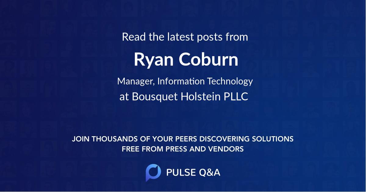 Ryan Coburn