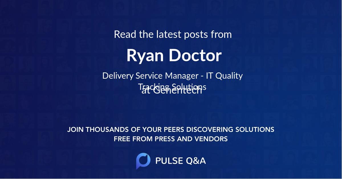 Ryan Doctor