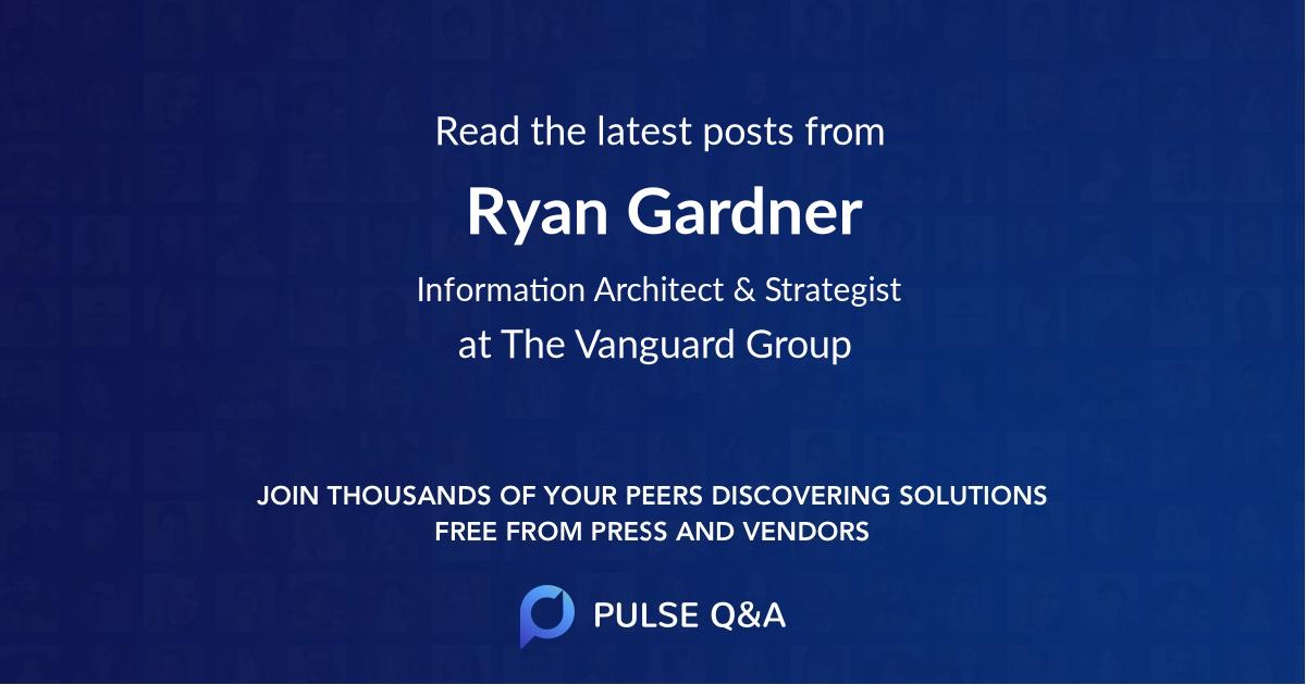 Ryan Gardner