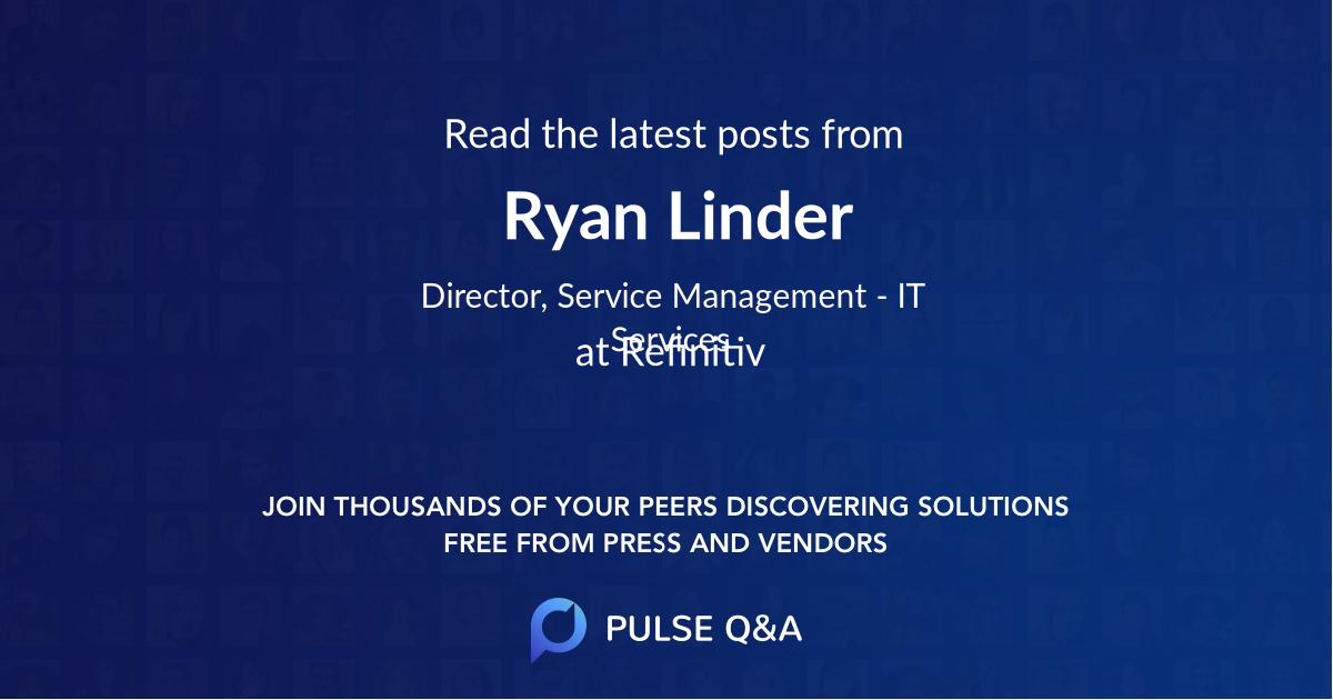 Ryan Linder