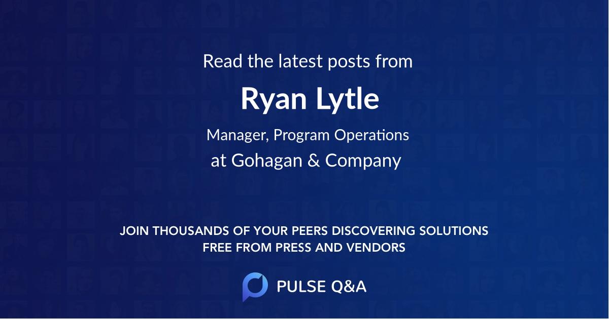 Ryan Lytle