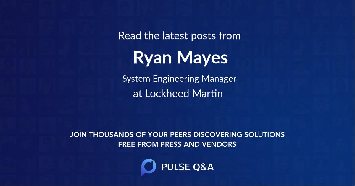 Ryan Mayes