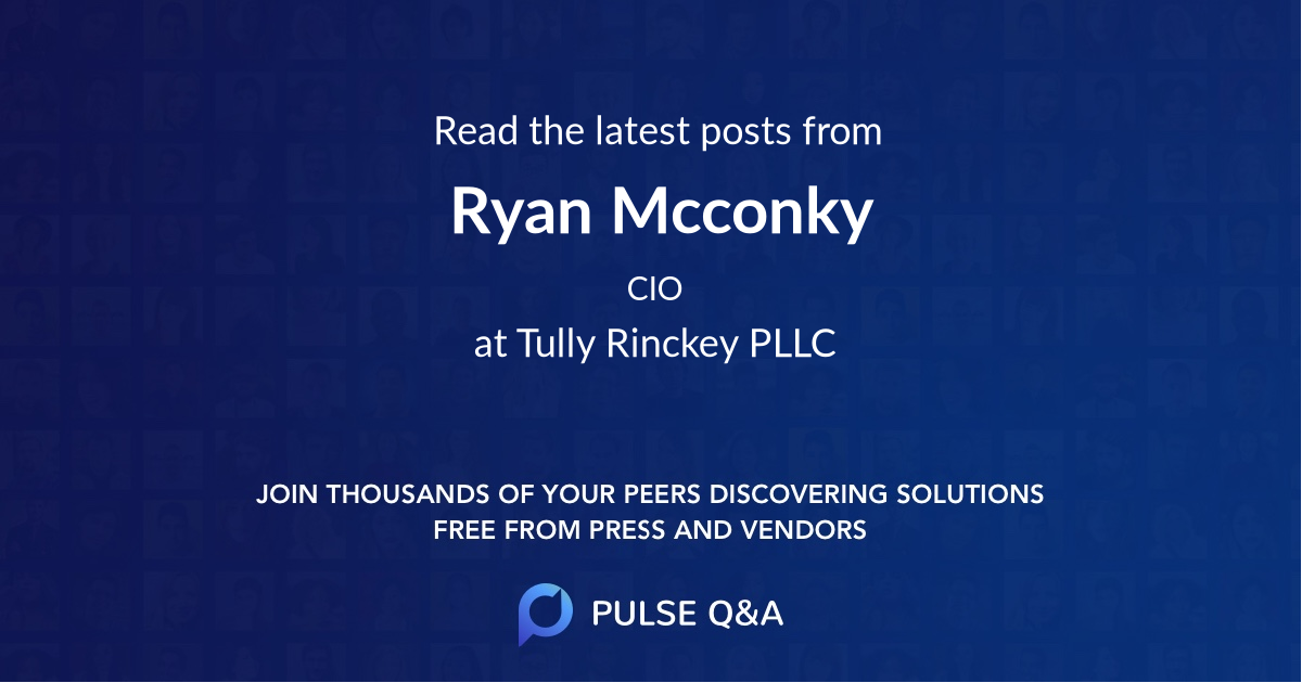 Ryan Mcconky
