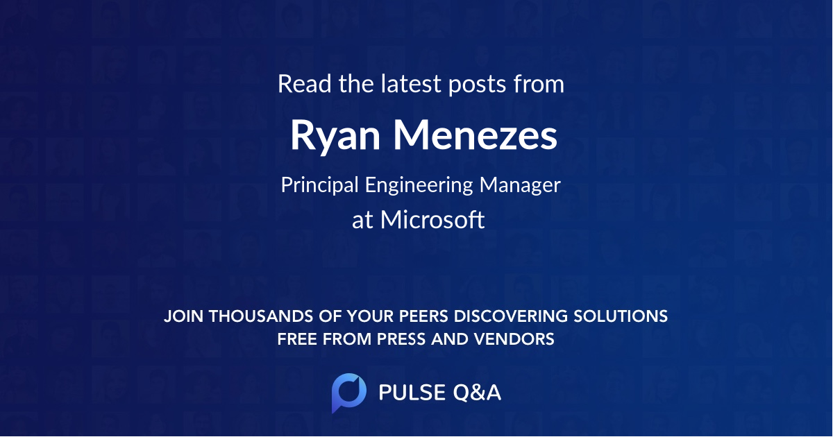 Ryan Menezes