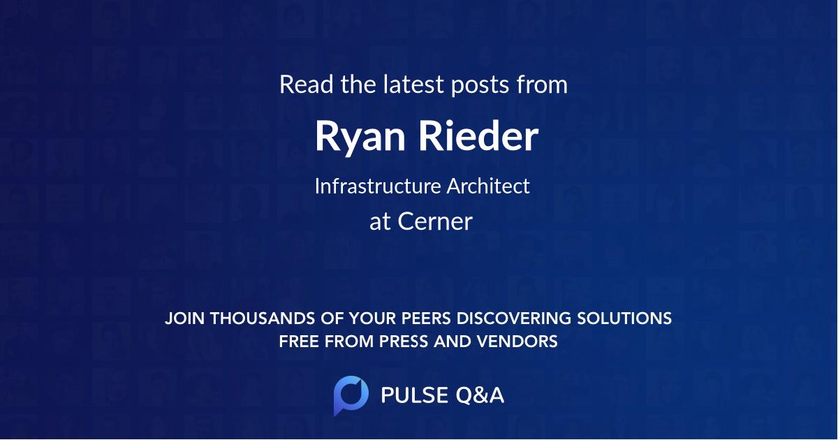Ryan Rieder