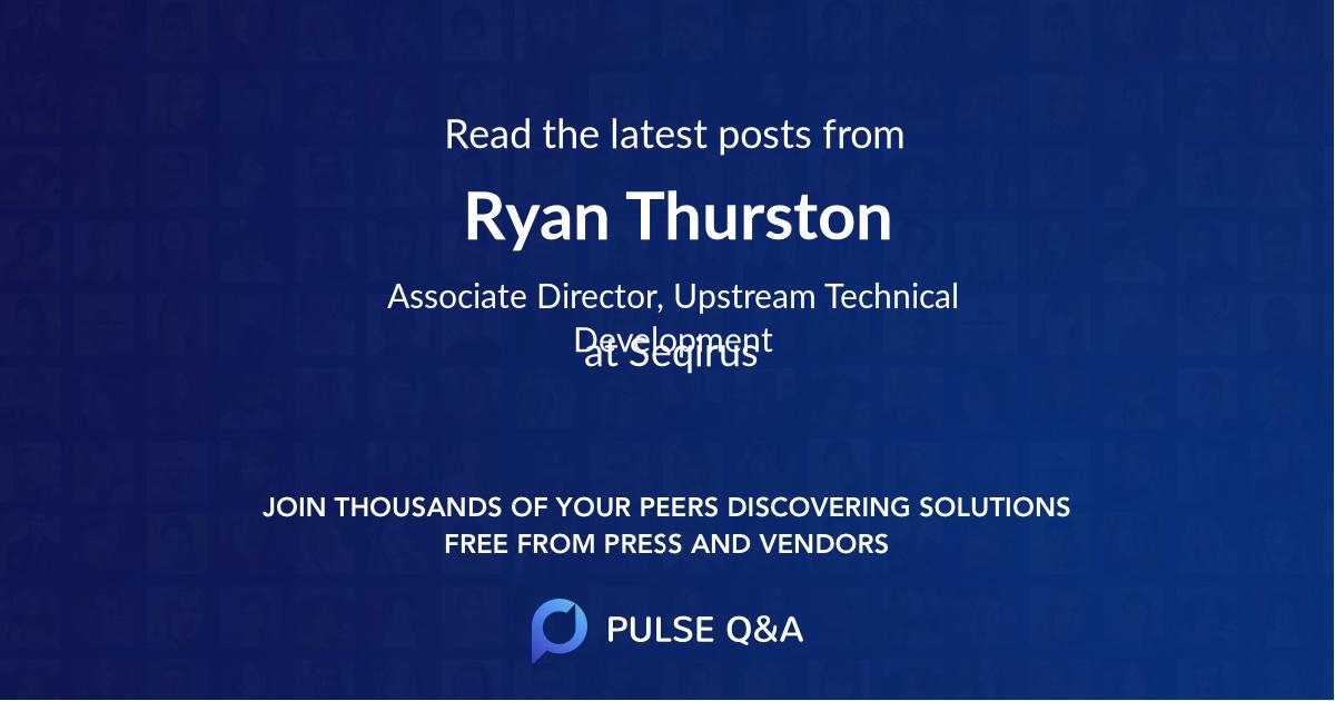 Ryan Thurston