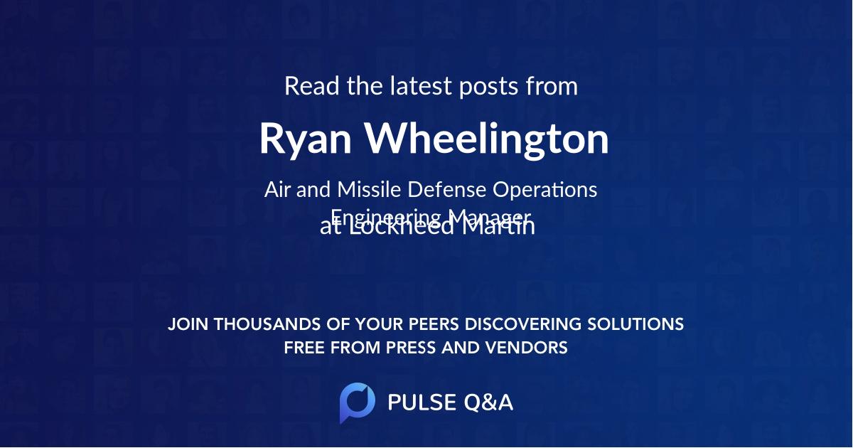 Ryan Wheelington