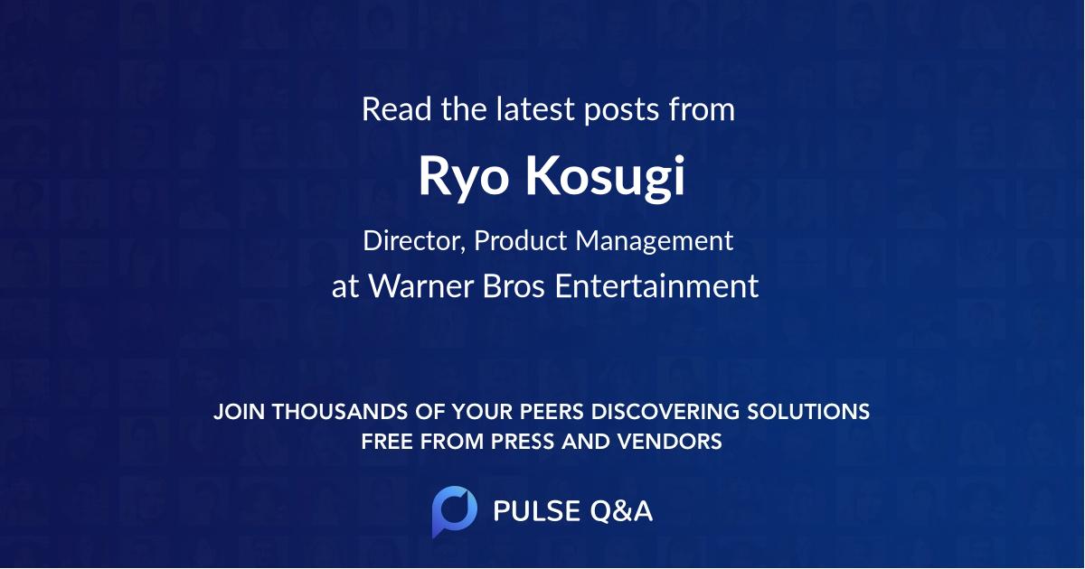 Ryo Kosugi