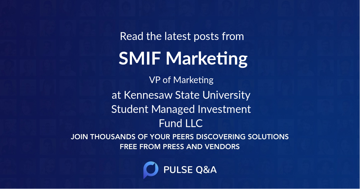 SMIF Marketing