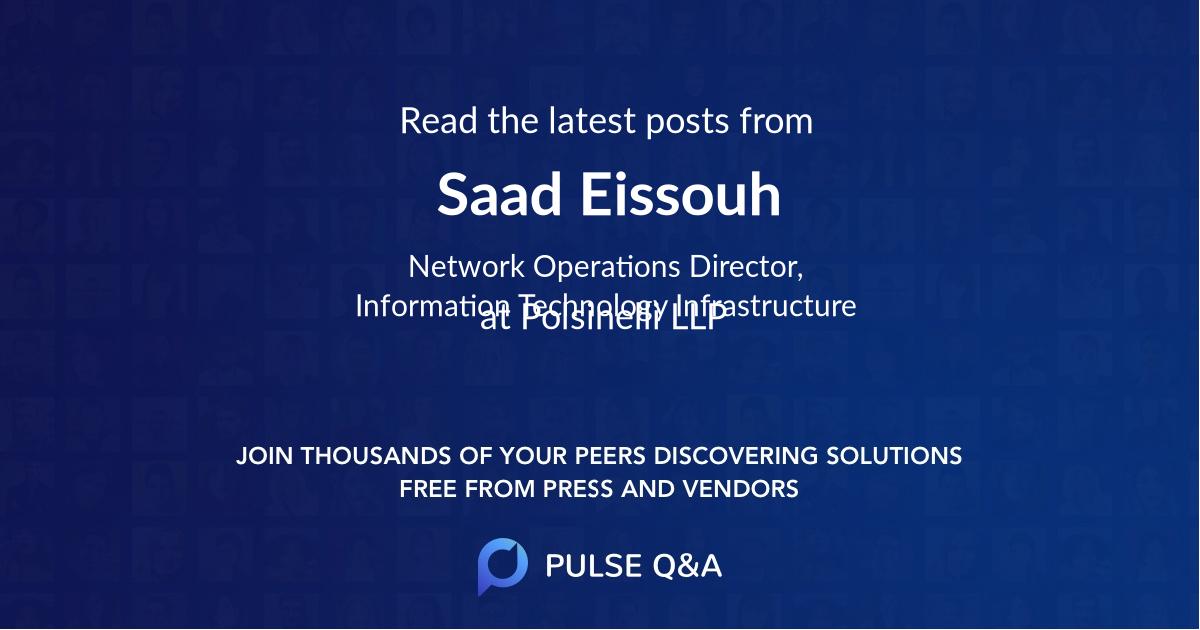 Saad Eissouh