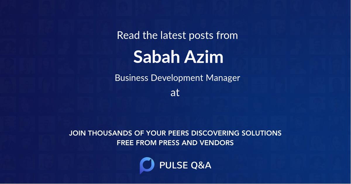 Sabah Azim