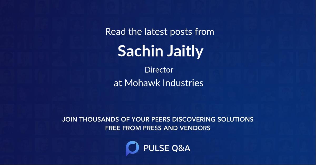 Sachin Jaitly