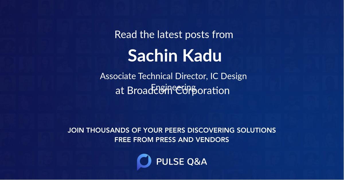 Sachin Kadu