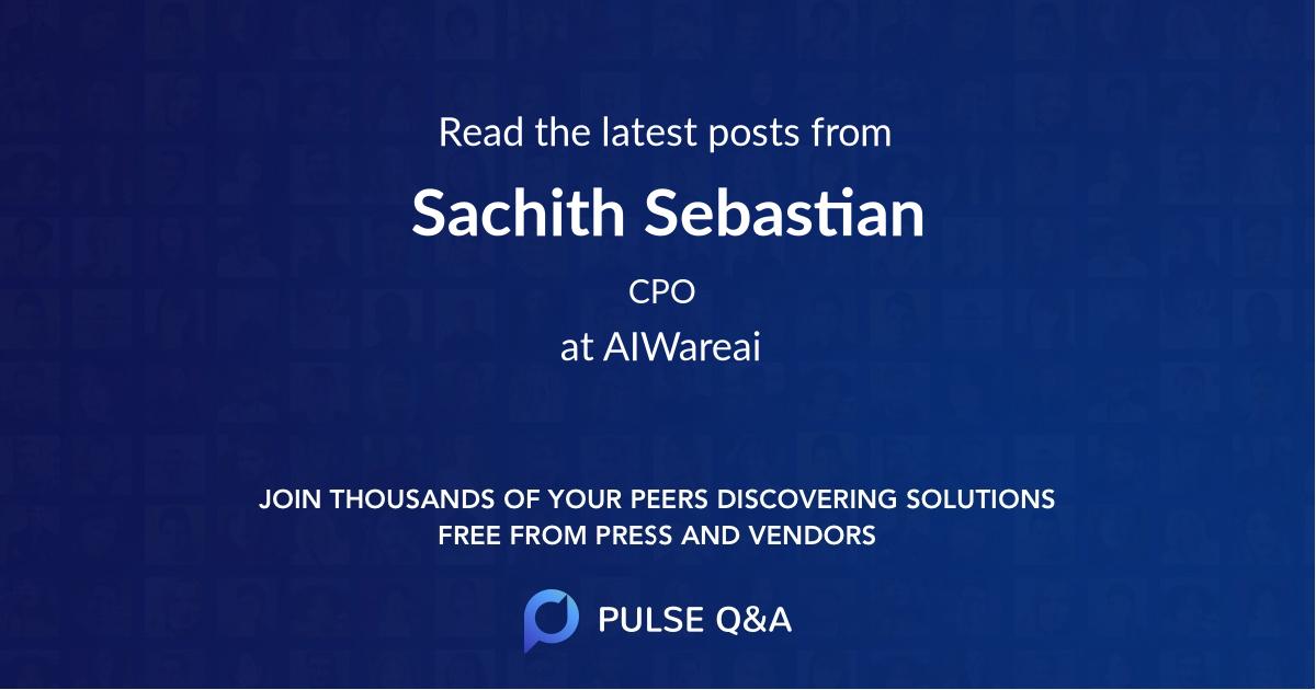 Sachith Sebastian