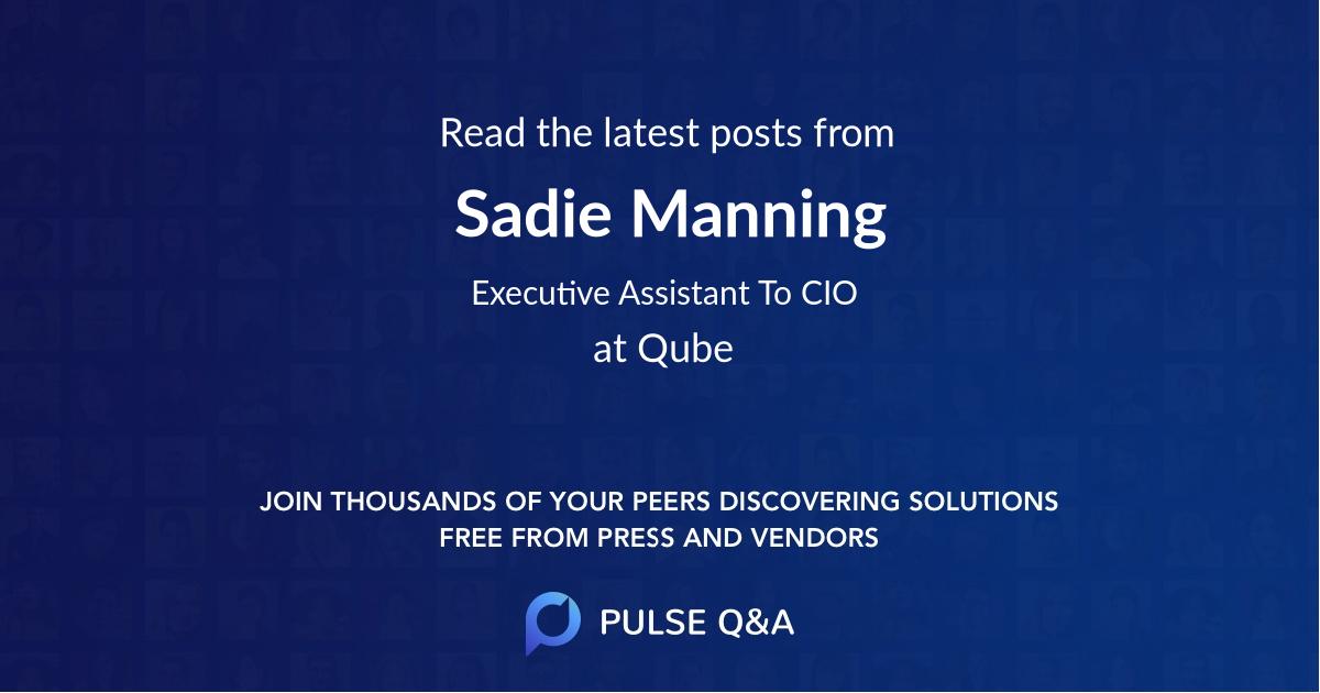Sadie Manning