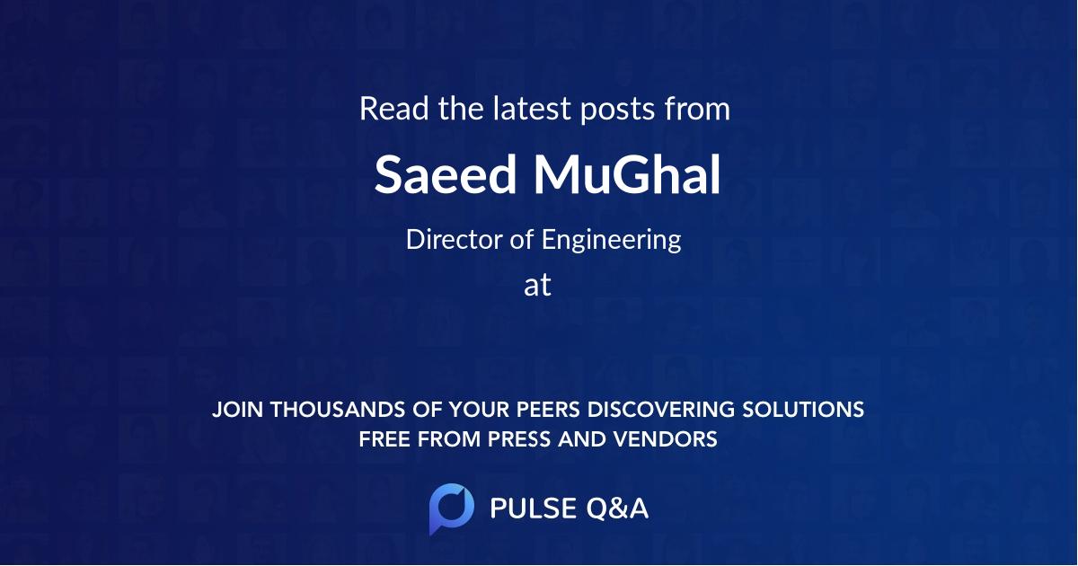 Saeed MuGhal