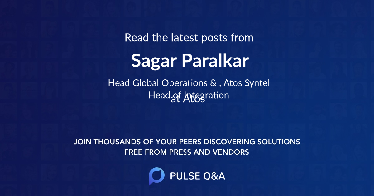Sagar Paralkar