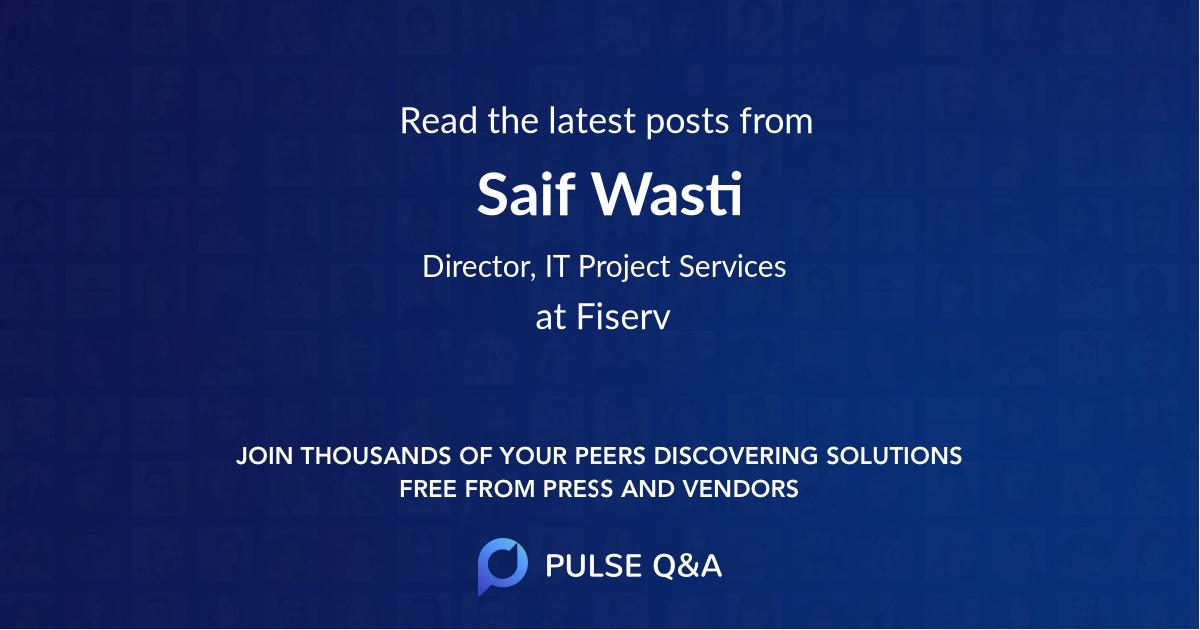 Saif Wasti