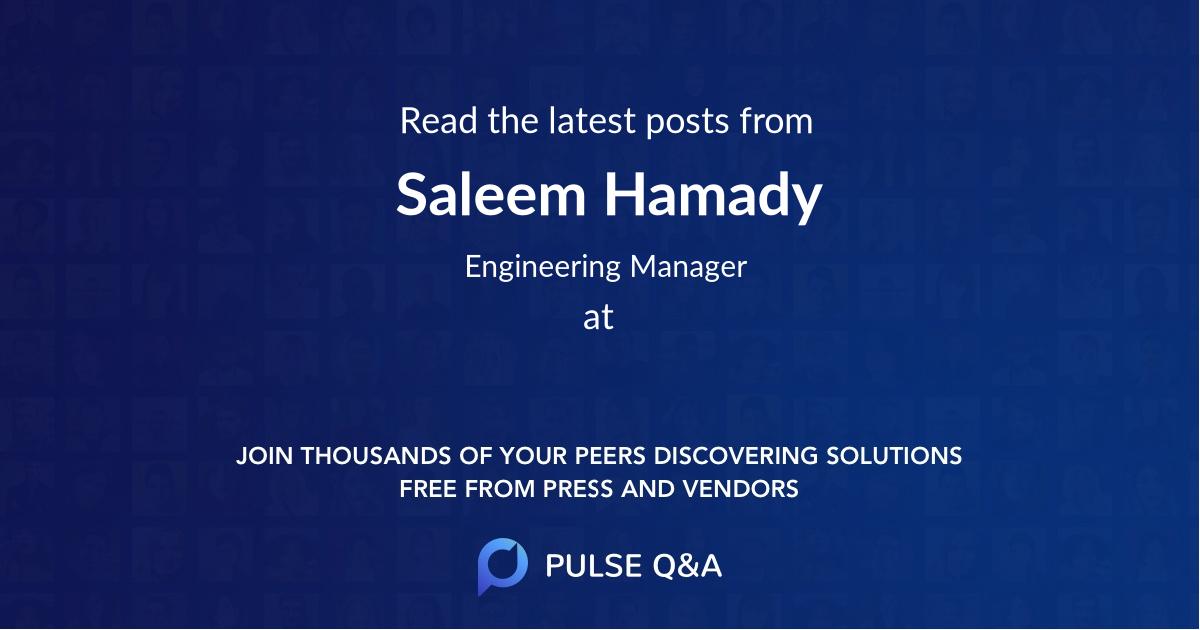 Saleem Hamady